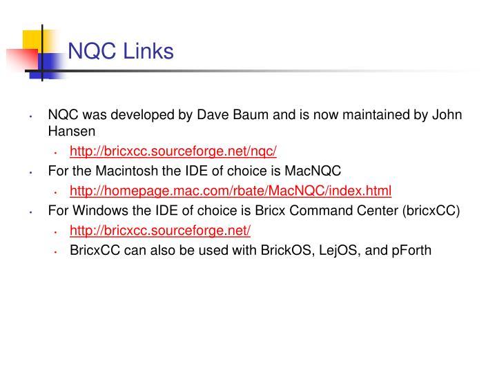 NQC Links