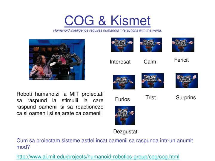 COG & Kismet