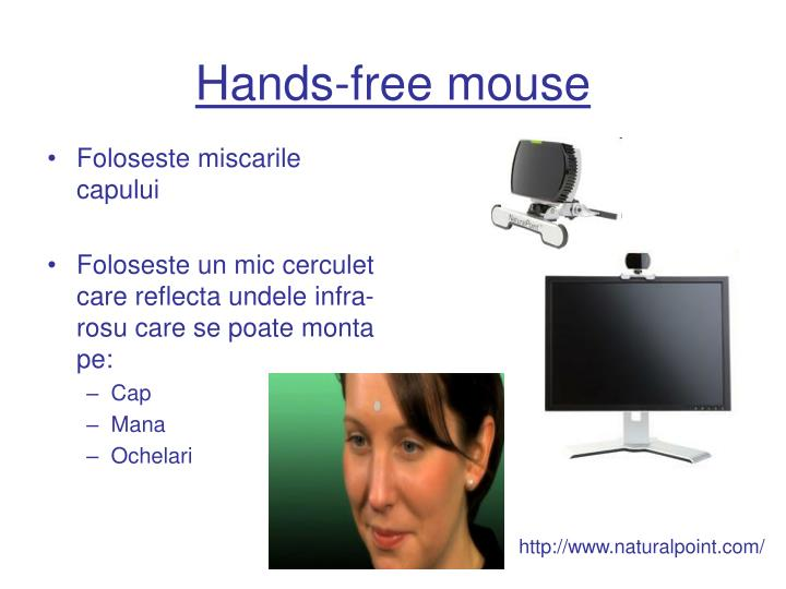 Hands-free mouse