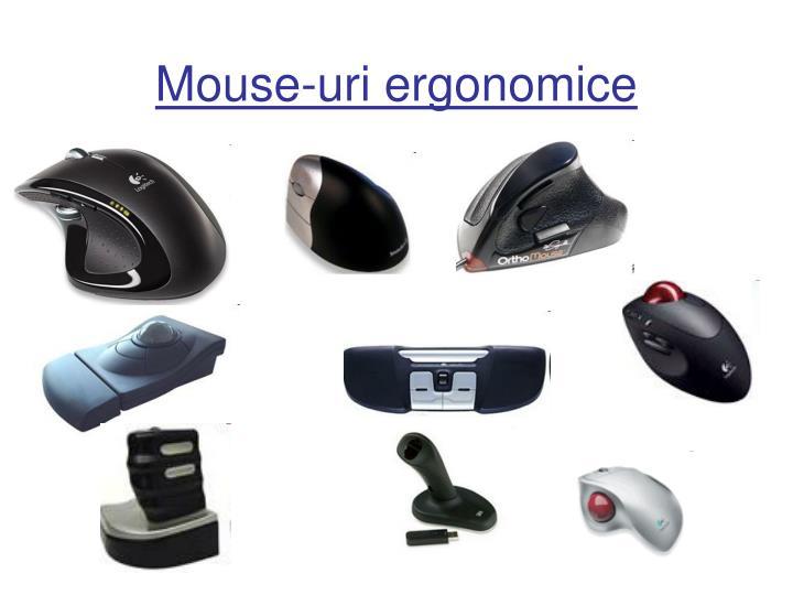Mouse-uri ergonomice