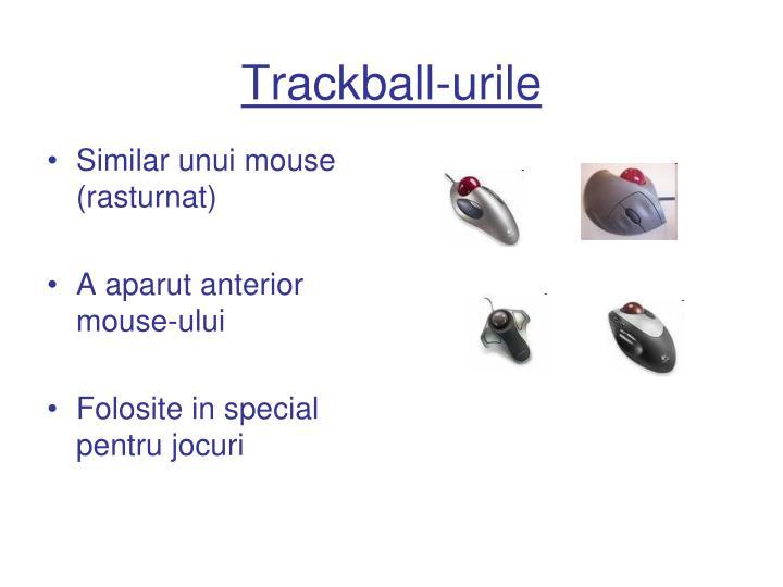 Trackball-urile