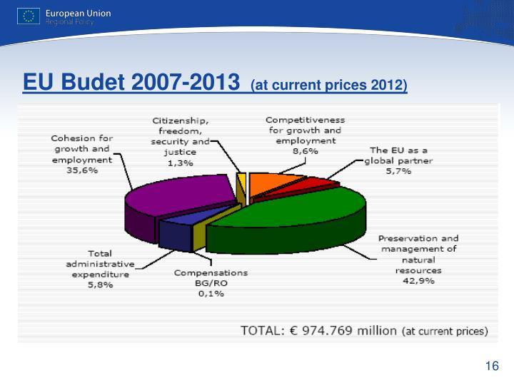 EU Budet 2007-2013