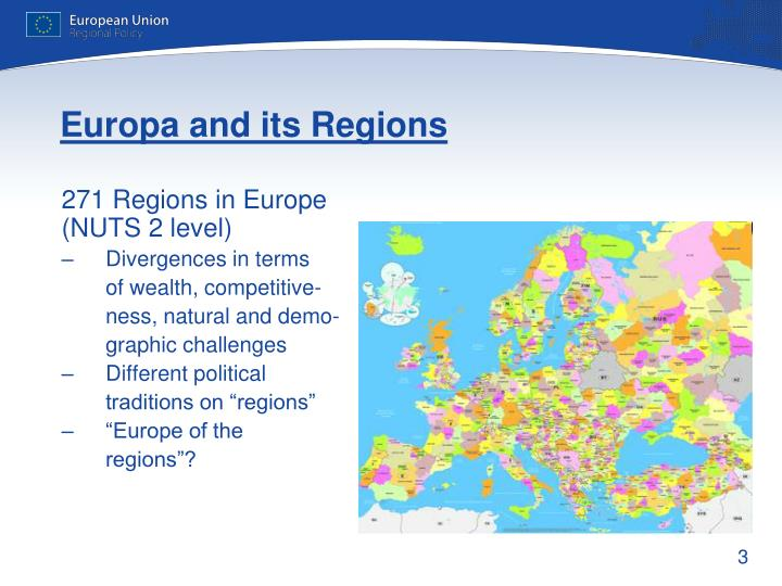 Europa and its Regions