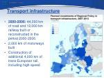 transport infrastructure