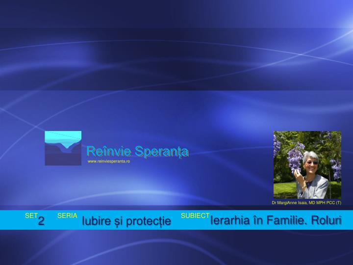Reînvie Speranța