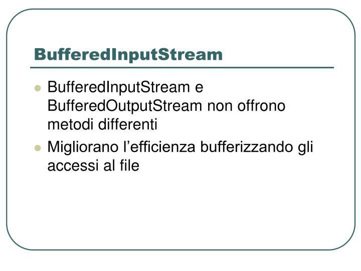 BufferedInputStream