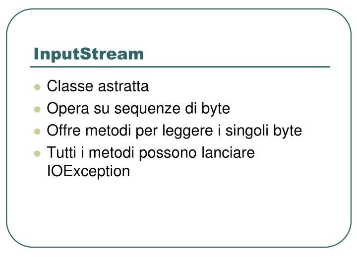 InputStream