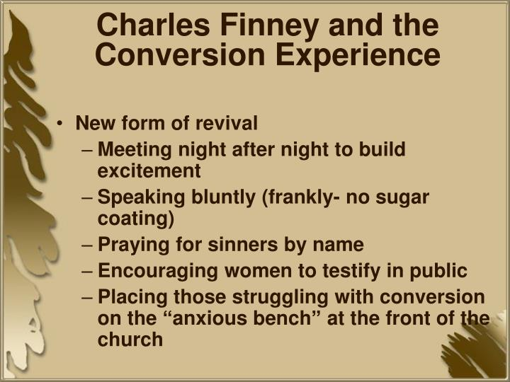 Charles Finney and the