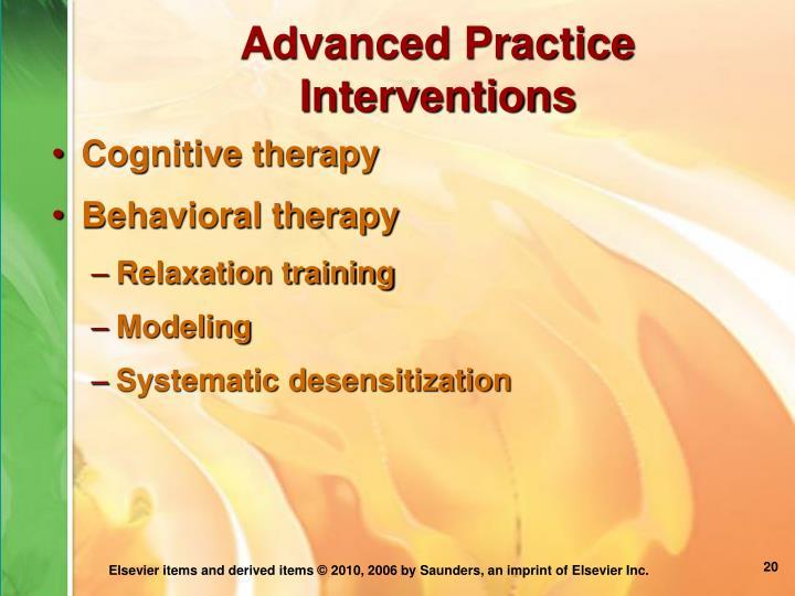 Advanced Practice