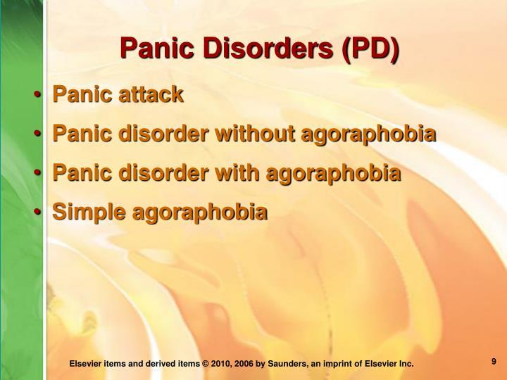 Panic Disorders (PD)