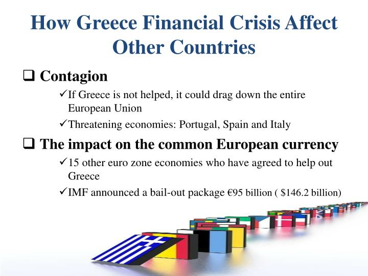 How Greece Financial Crisis Affect Other Countries