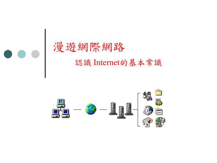 漫遊網際網路