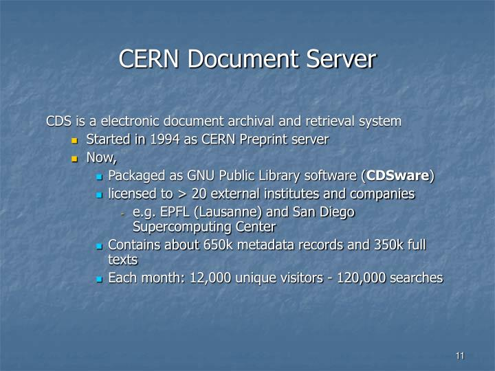 CERN Document Server