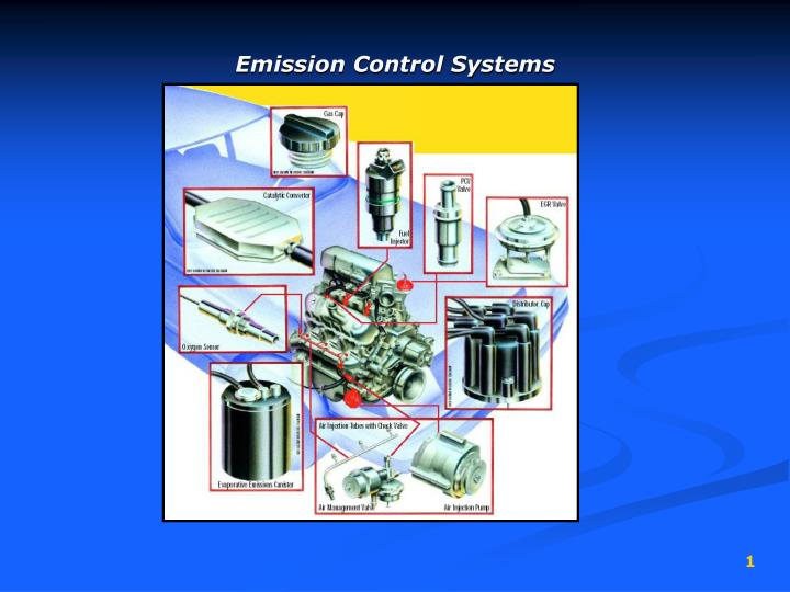 Emission control systems