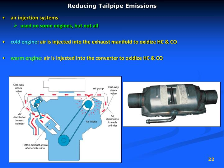 Reducing Tailpipe Emissions