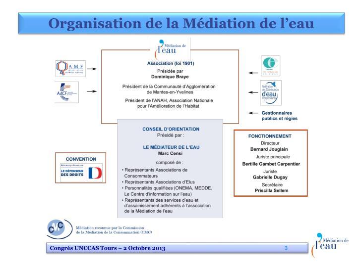 Organisation de la Médiation de l'eau