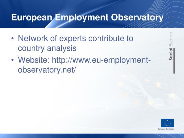 European Employment Observatory