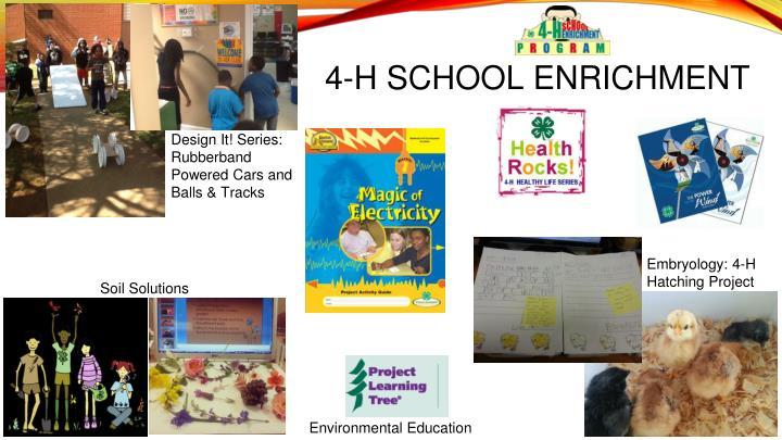 4-H SCHOOL ENRICHMENT