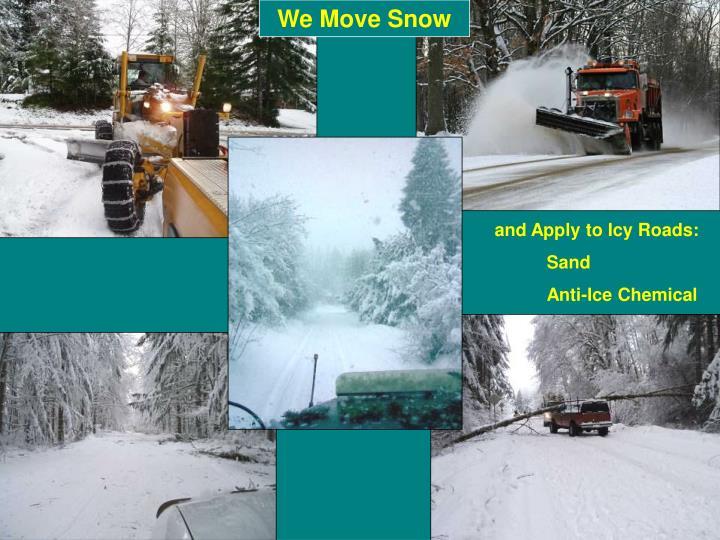 We Move Snow