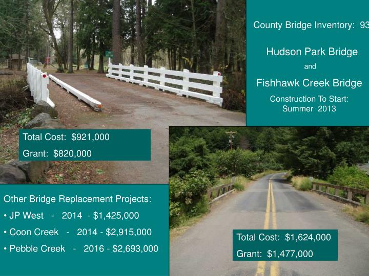County Bridge Inventory:  93