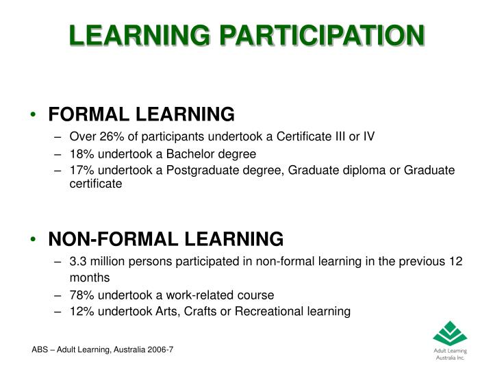 LEARNING PARTICIPATION