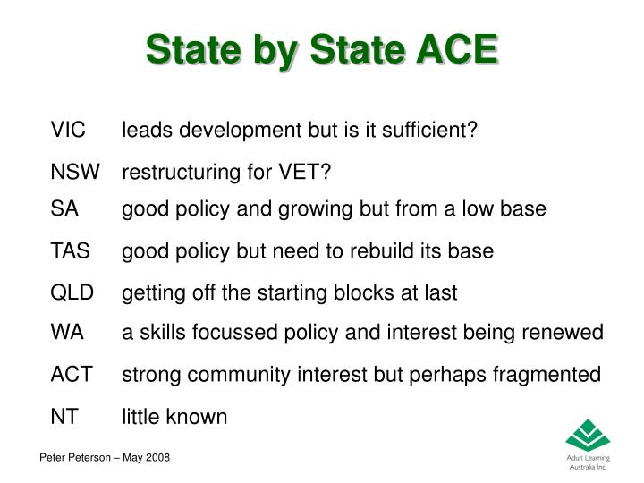 State by State ACE