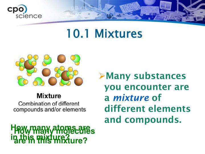 10.1 Mixtures