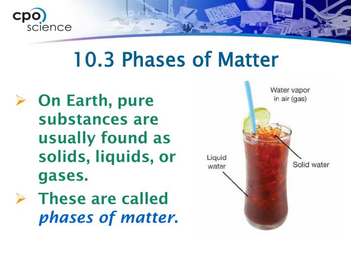 10.3 Phases of Matter