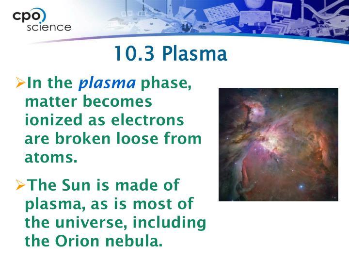 10.3 Plasma