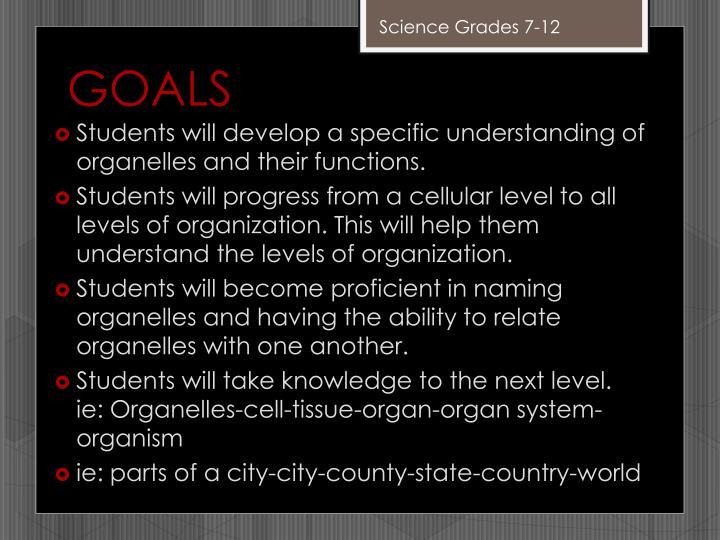 Science Grades 7-12