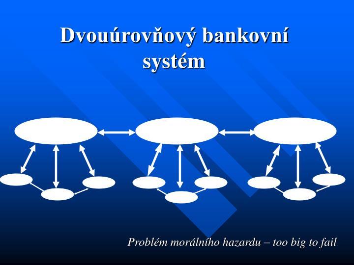 Dvouúrovňový bankovní systém