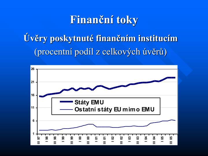 Finanční toky