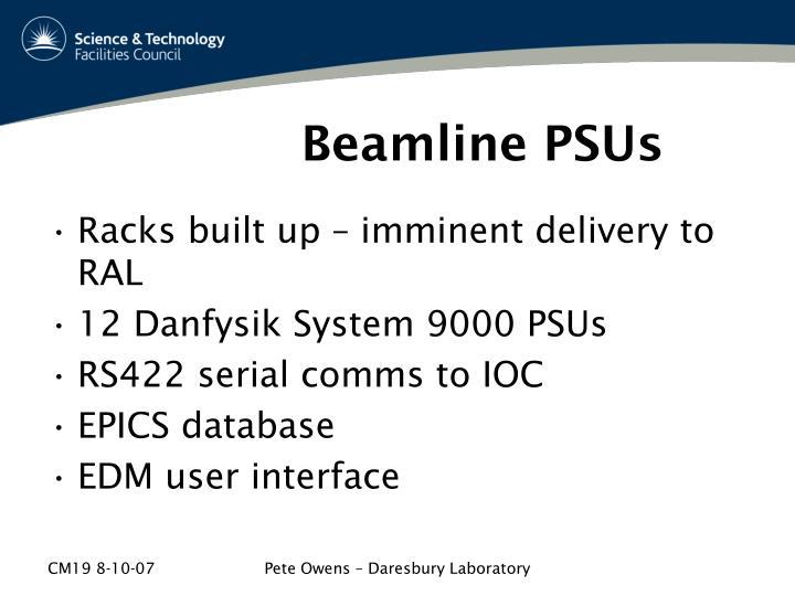 Beamline PSUs