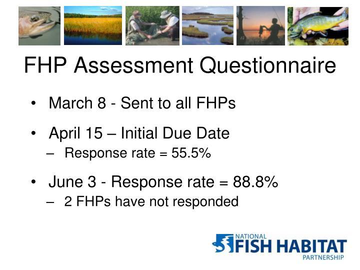 FHP Assessment Questionnaire