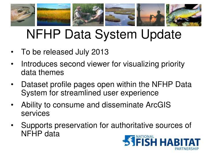 NFHP Data System Update