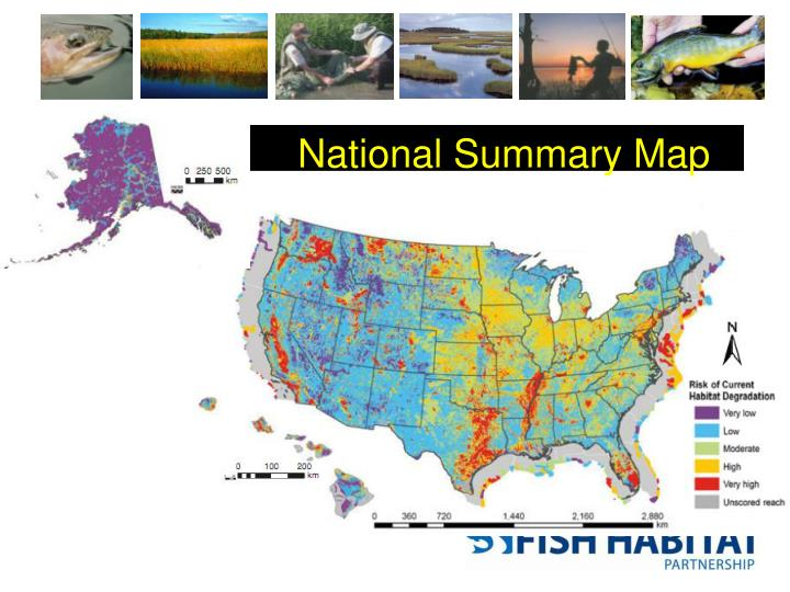 National Summary Map