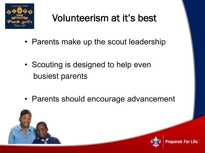 Volunteerism at it's best