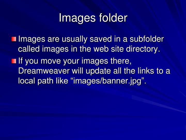 Images folder