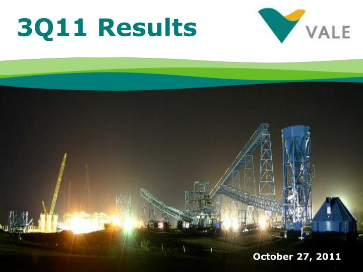 3Q11 Results