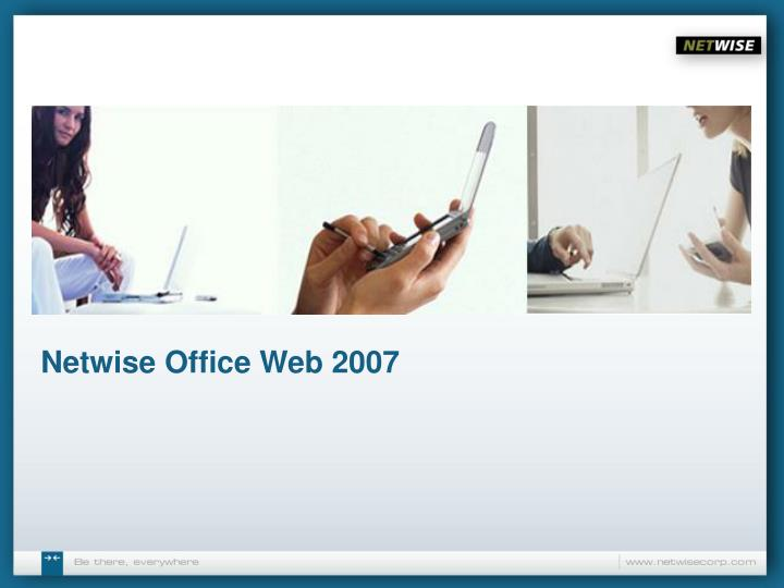 Netwise office web 2007