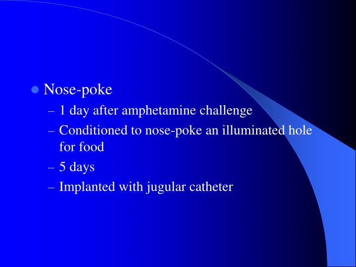 Nose-poke