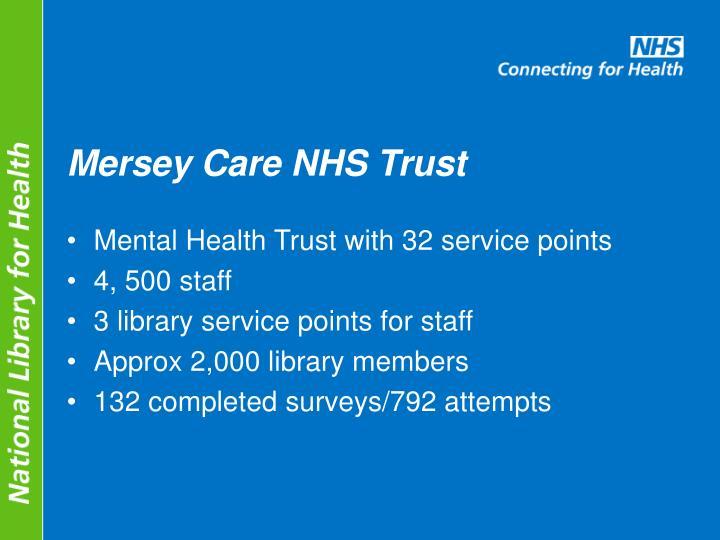 Mersey Care NHS Trust