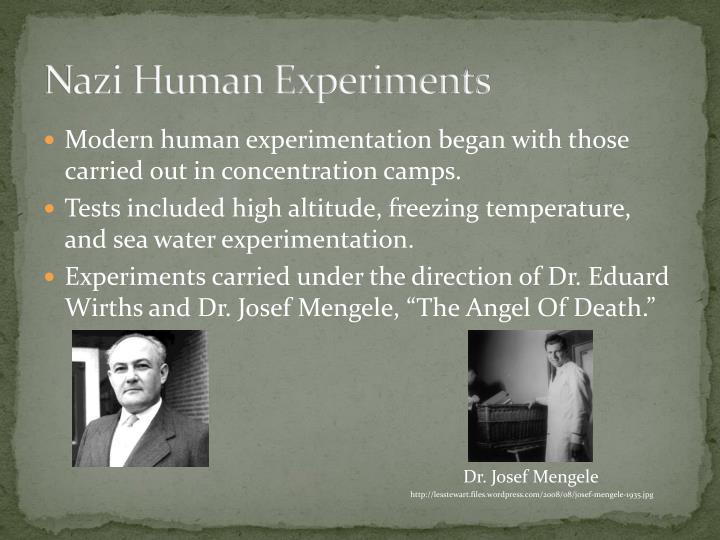 Nazi Human Experiments