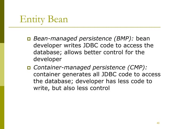 Entity Bean