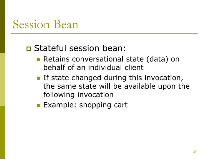 Session Bean
