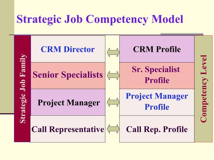 Strategic Job Competency Model