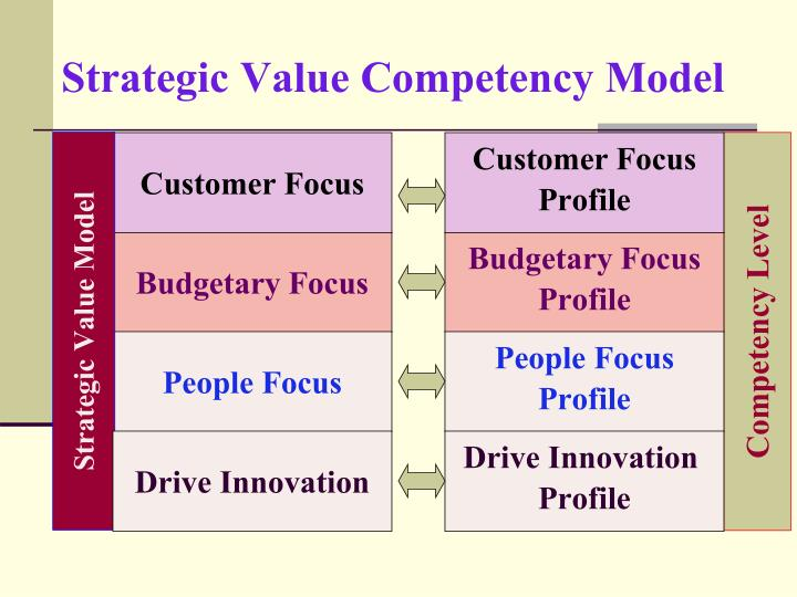Strategic Value Competency Model