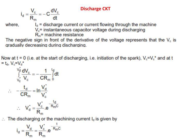 Discharge CKT