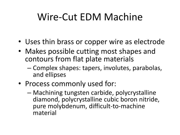 Wire-Cut EDM Machine