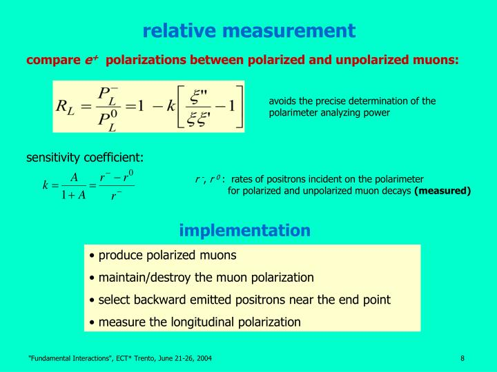 relative measurement